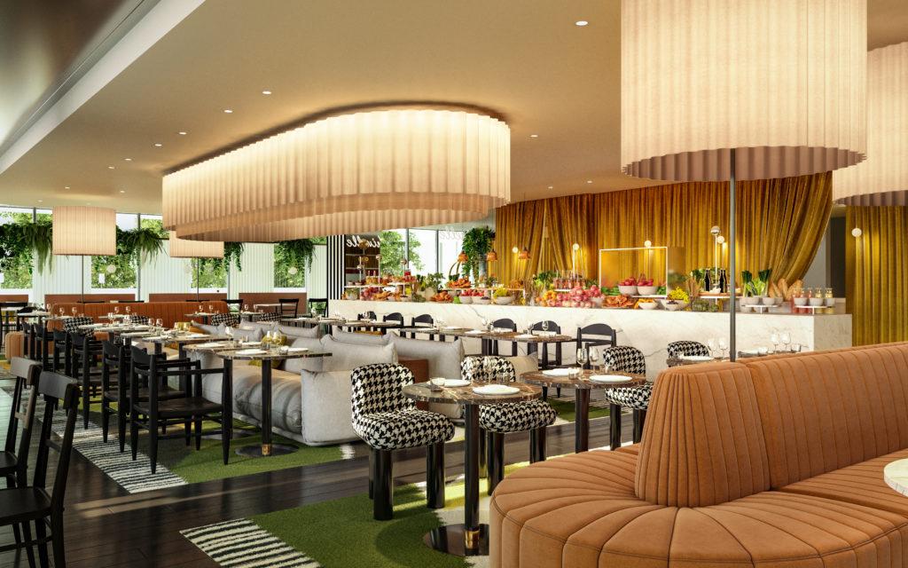 Truetopia décoration intérieur restaurant polichinelle paris
